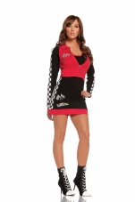 High Speed Hottie 2 Pc Costume