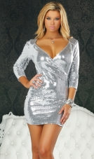 Hisarya Sequin Dress