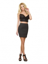 Hit Of The Moment Bandage Skirt