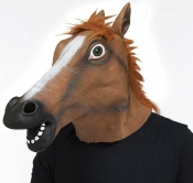 Horse Head Mask Fun World