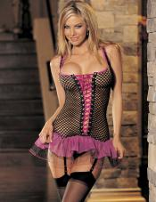 Hot Fishnet Chemise