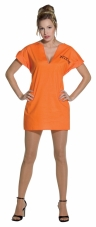 Jailhouse Dress Costume Rasta Imposta