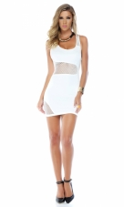 Jetsetter Tank Illusion Bodycon Dress