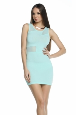 Kile Lightning Bolt Illusion Dress Forplay