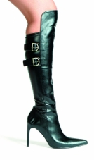 Knee High Boots with Buckles Ellie Shoes