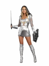 Knight Time Women's Costume