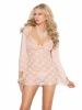 Lace Babydoll with Adjustable Straps