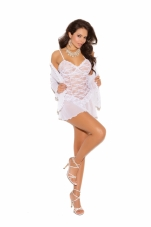 Lace Babydoll with Underwire Cups