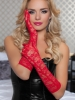 Lace Elbow Length Gloves Seven Til Midnight