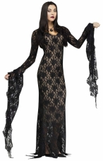 Lace Morticia Adult Costume Fun World