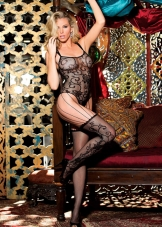 Lace Teddy Style Bodystocking