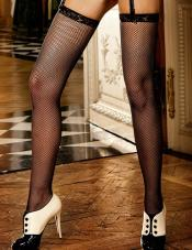Lace Top Stockings Baci Lingerie
