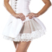Lace White Petticoat Adult