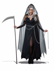 Lady Reaper Adult Plus Size Costume