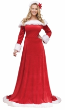 Lady Santa Dress Fun World