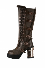 Langdon Knee High Boots Hades