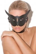 Leather Cat Mask Elegant Moments