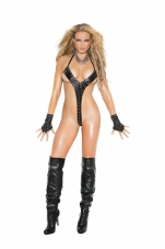 Leather String Teddy Elegant Moments