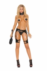 Leather Waist To Thigh Harness