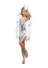 Life's A Party Flapper 20'S Costume Dreamgirl