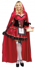 Little Red Plus Adult Costume