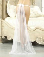 Long Bridal Train Fantasy Lingerie