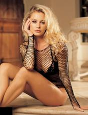 Long Sleeved Fishnet Top Shirley