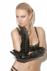 Long Vinyl Gloves Elegant Moments