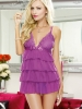 Lover's Bliss Tiered Babydoll