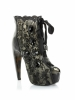 Lula 5.5 Inch Lace Overlay Ankle Bootie