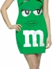 M&M Green Costume