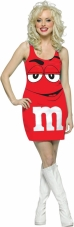 M&M Red Costume Rasta Imposta