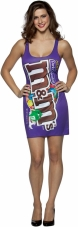 M&M's Dark Chocolate Costume Rasta Imposta