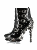 Machina Chrome Ankle Booties