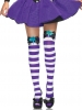 Mad Hatter Bow Top Thigh Highs
