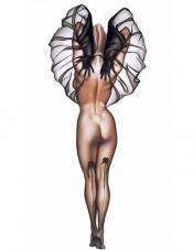 Madame Butterfly Bodystocking