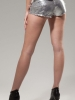 Main Street Low Rise Sequin Shorts