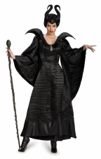 Maleficent Deluxe Christening Black Gown Plus Costume