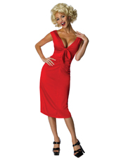 Marilyn Monroe Niagara Red Dress Costume