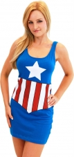 Marvel Comics Captain America Tank Dress