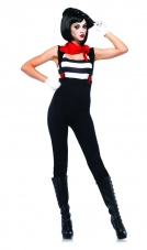 Marvelous Mime Costume Leg Avenue