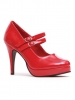 Mary Jane 4 Inch Double Strap Heel