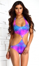 Maui Iridescent Ring Monokini Forplay