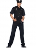 Men's Police Shirts, Hand Cuff, Hats Costume