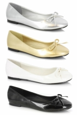 Mila Ballet Flat with Bow Ellie Shoes