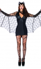 Moonlight Bat Costume Leg Avenue