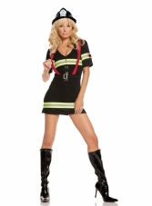Ms Blazin' Hot 2 Pc Costume Elegant Moments