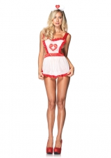 Naughty Nurse Costume Leg Avenue