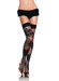 Netted Rose Thigh High