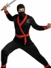 Ninja Master Adult Plus Costume Disguise
